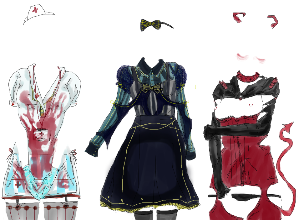 Artificial Academy 2 Clothes by anonymities-0 on DeviantArt