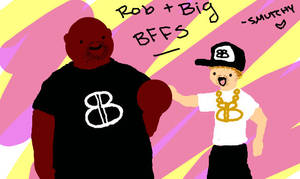 Rob and Big: Chibi Style by squidelise