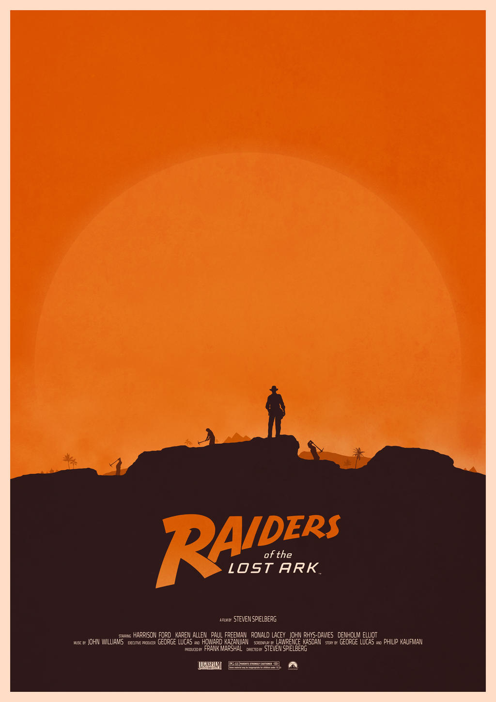 Raiders of the Lost Ark by Deluxepepsi