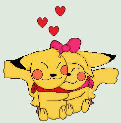 Pikachu Hugs(RQ)
