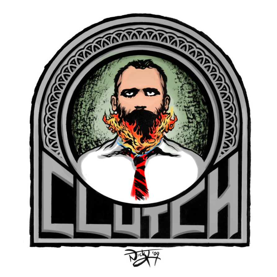 clutch burning beard