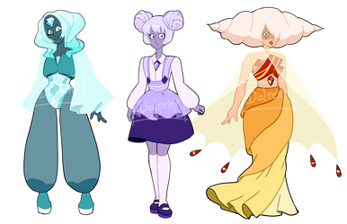 Diamond Adopt Batch 1 [CLOSED] [Point or PayPal] by Dal-Adoptables