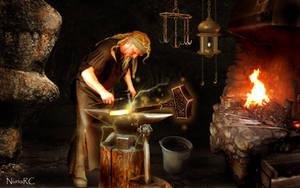 SVARTALFHEIM - Home of the Dark Elves and Dwarfs by nrcArt
