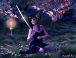 Oriental Warrior by nrcArt