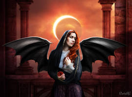 Lilith, the Vampire Queen by nrcArt