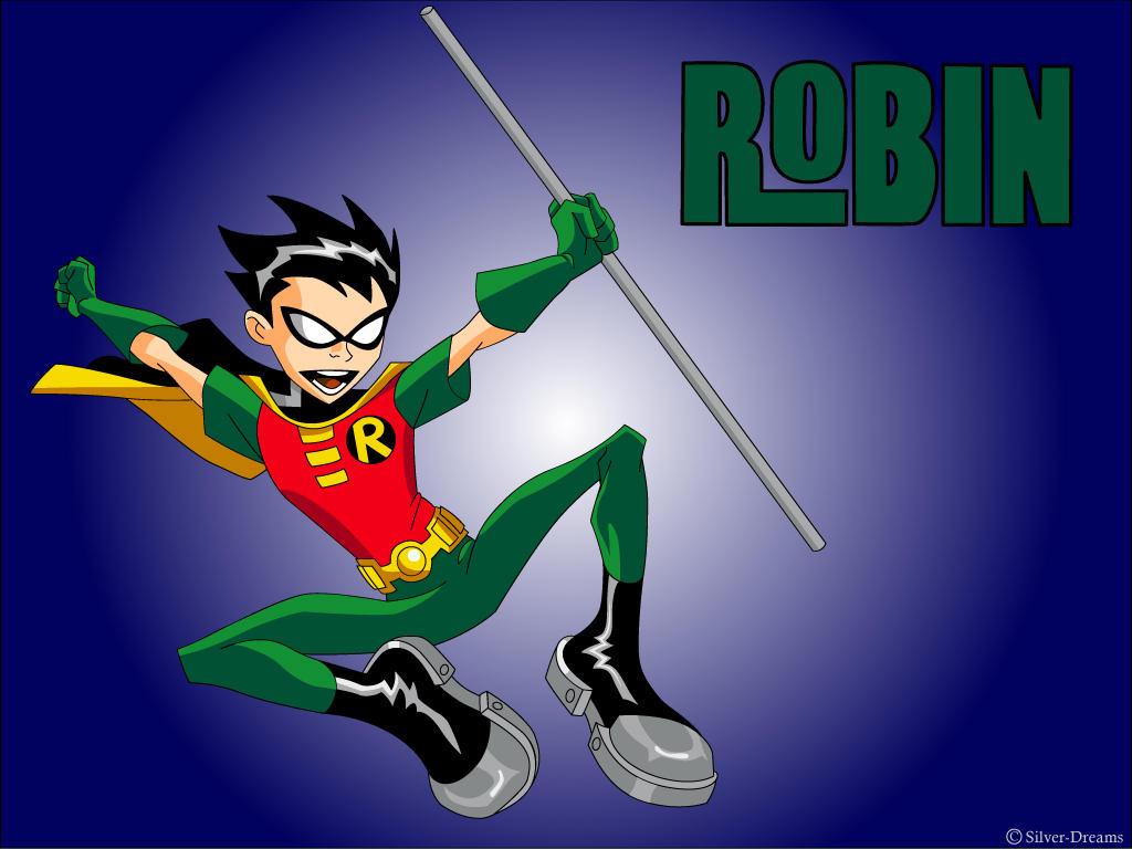 robin on teen titans
