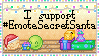 EmoteSecretSanta Support Stamp by BlissfullySarcastic