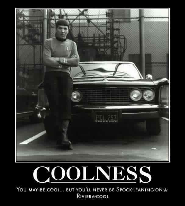 Spock's Coolness by SpockHorror