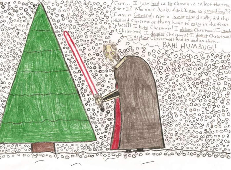 Grievous Hates Christmas by DarthWill3