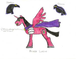 Prince Lucius - MLP OC Villain