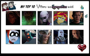 The Top 10 Villains I Sympathize With