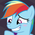 Rainbow Dash - Blushing Madly
