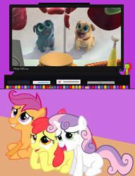 CMC Watch Puppy Dog Pals by DarthWill3