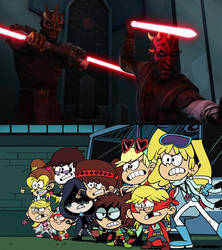 The Full House vs the Sith Brothers by DarthWill3
