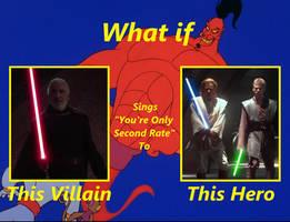 Darth Tyranus Sings YOSR to Obi-Wan and Anakin