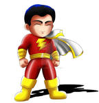Captain Marvel Chibi