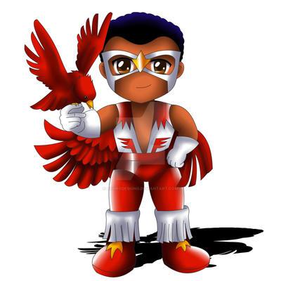 falcon chibi by exorodesigns on deviantart
