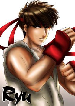 Ryu of Street Fighter
