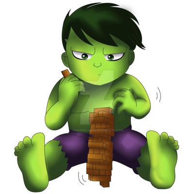 Hulk Chibi by ExoroDesigns on DeviantArt