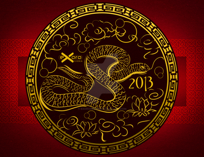 Exoro Choice's 2013 Chinese New Year Cards 08 by ExoroDesigns
