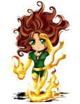 Jean Grey Phoenix Chibi