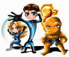 Fantastic Four Chibi