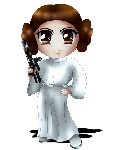 Princess Leia by ExoroDesigns
