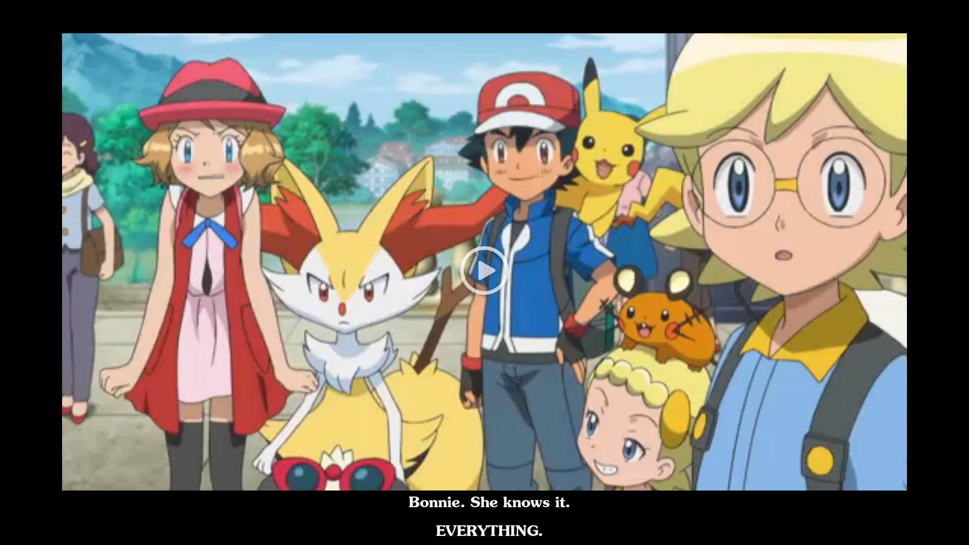 pokemon ash knows hot girls
