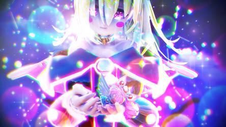 [MMD] Dark Magician Girl and Sailor Chibi Moon