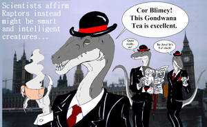 Art Trade - British Raptors by Jurassic-Gothic