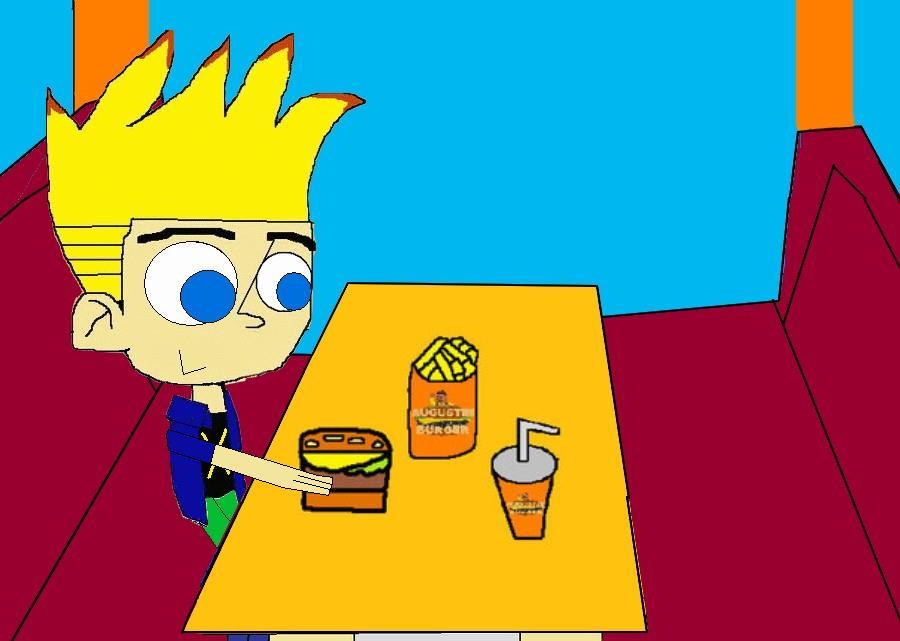 Johnny Test At Augustin Burger By HouseOfFrancisRocks On