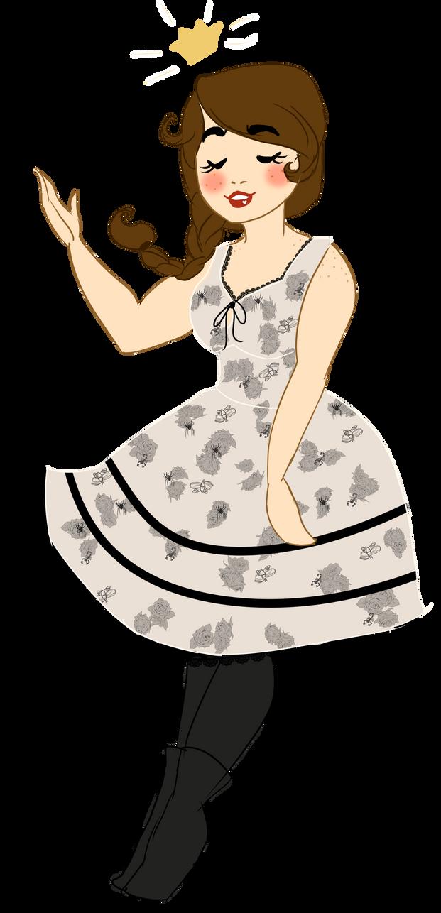 Bug Princess by RosyAutumn