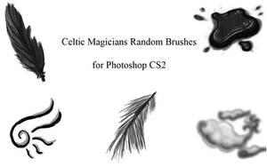 Random Photoshop Brushes by CelticMagician