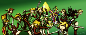 Day 19 - Link Through the Ages by CelticMagician