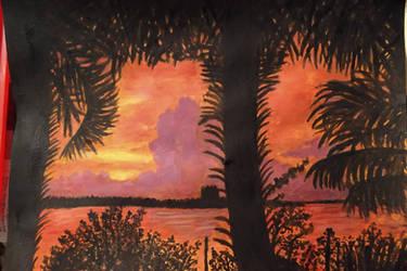 'Sunrise Glory- New Smyrna Beach, Florida'
