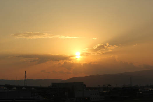 Sunset to Kyoto