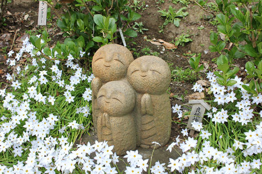 Monk Statues?