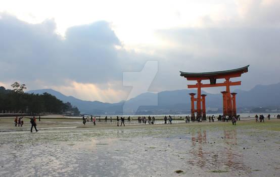 Torii at Miyajima