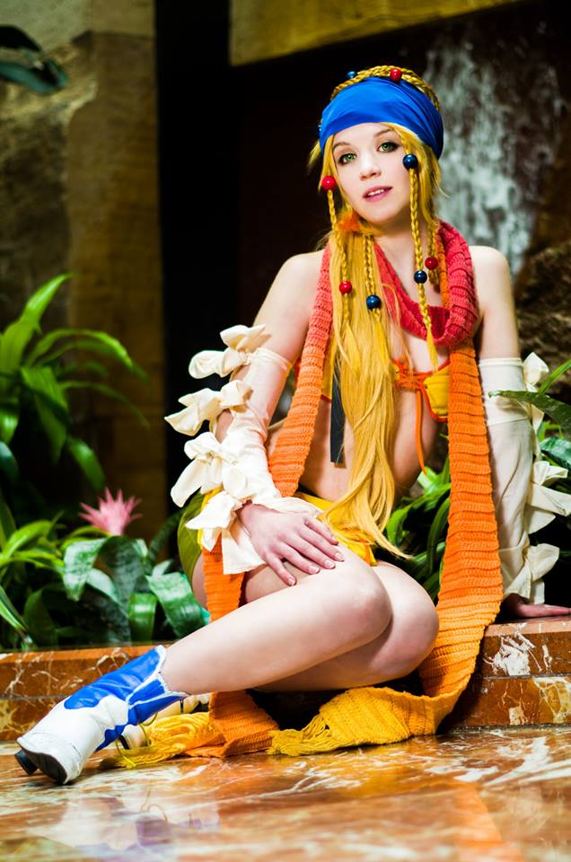 Anime Boston 2014 (I cannot) Rikku by KrazedChaos