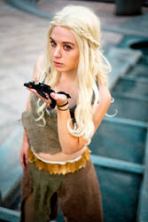 Mother Of Dragons at DragonCon 2014