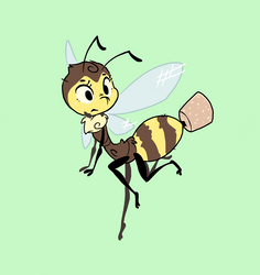 Dollop the Bee (collab)
