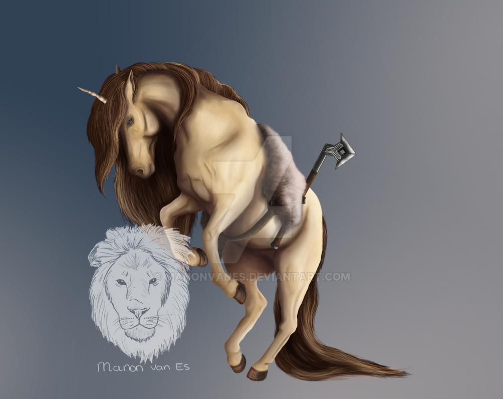 Dwarven warrior Howrse by manonvanes