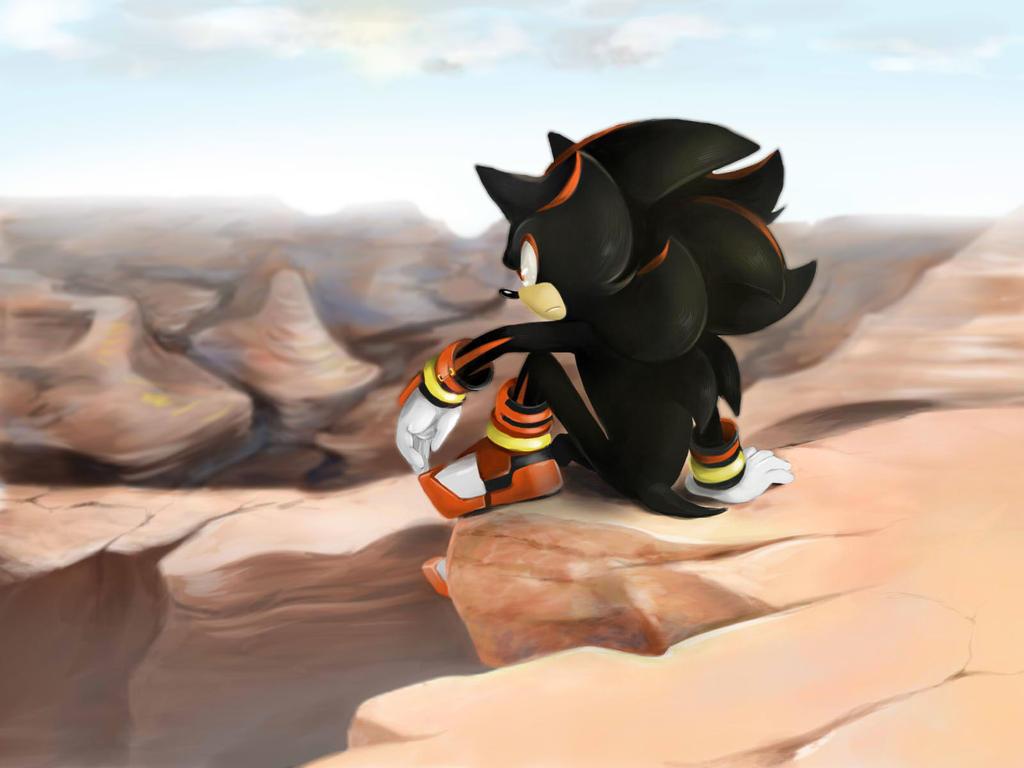 Sonic Boom Shadow The Hedgehog By Limirina On Deviantart