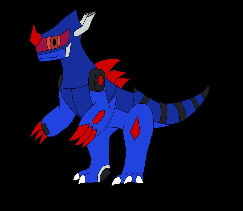 Digimon Kingdoms: Motordarmon By ShadowAgu On DeviantArt