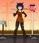 Mae:Humanization (background) by MoreStar