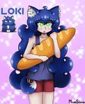 Nekomimi Loki (OC:Remake) by MoreStar