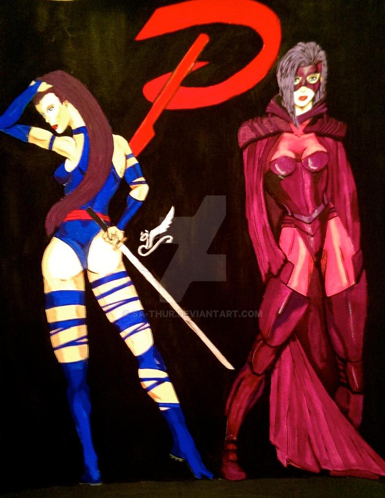 Psylocke II by sa-thur