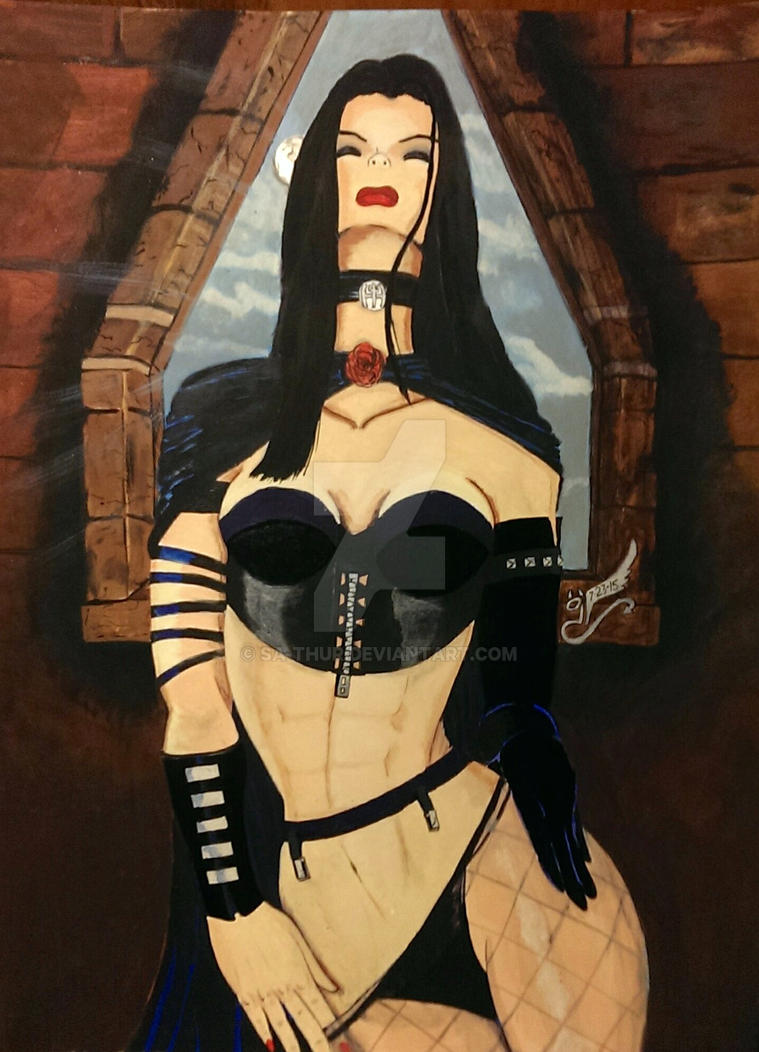 Hellfire Club's Black Queen by sa-thur