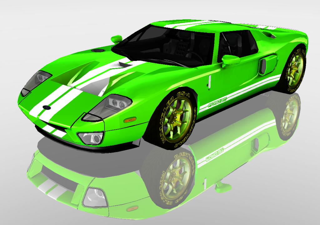mmd sports car ford gt 2010 dl by arisumatio - Ford Gt 2010