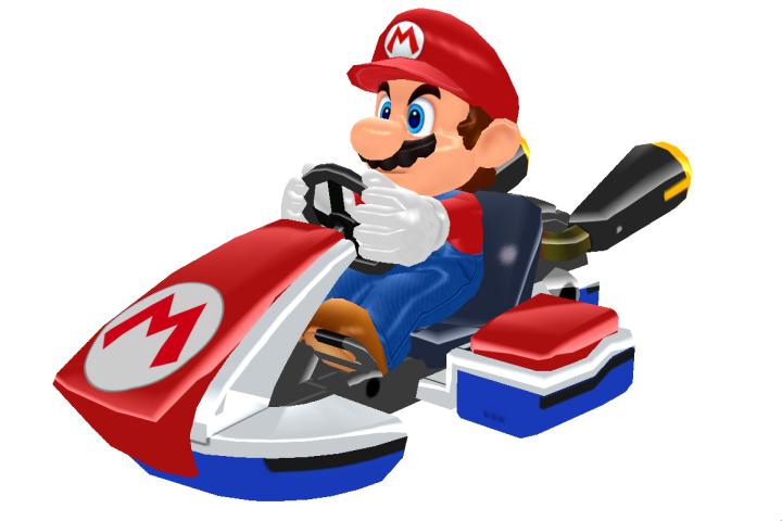 MMD Mario Kart